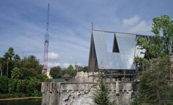 The wizarding world of hp construction pics Hp110