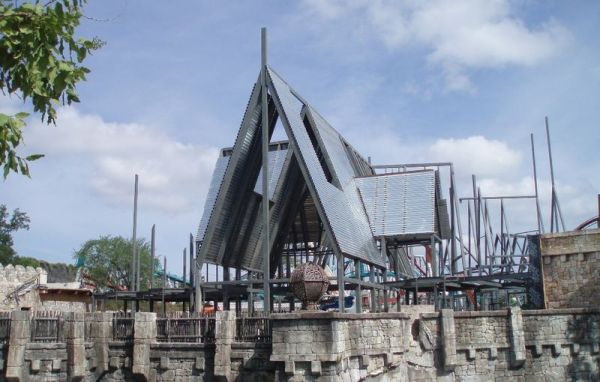 The wizarding world of hp construction pics Hp310