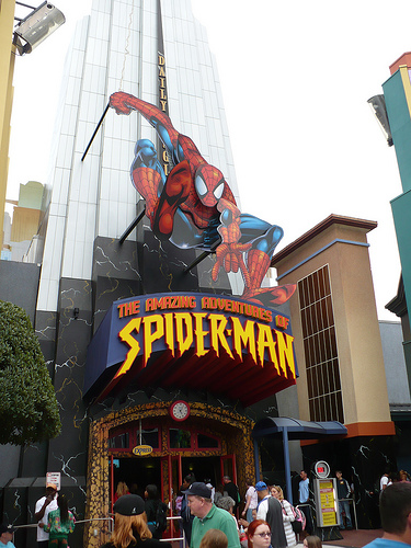 to stay or not to stay? - marvel in IOA Spider10