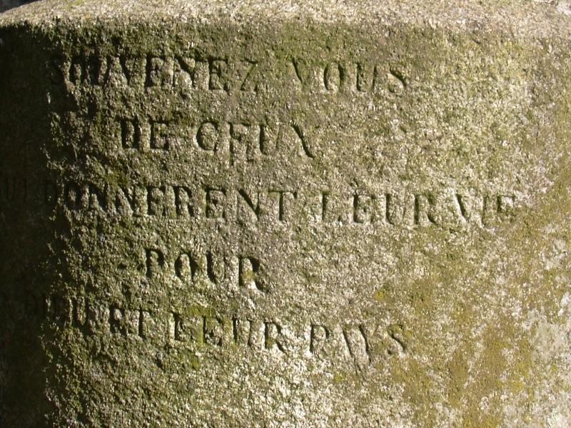 Hommage aux martyrs de la Vendée Croix_12