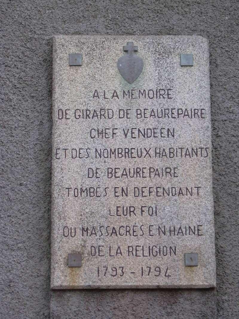 Hommage aux martyrs de la Vendée Girard10