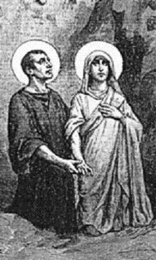 sveta Krizant in Darja (Darinka) - zakonca in mučenca