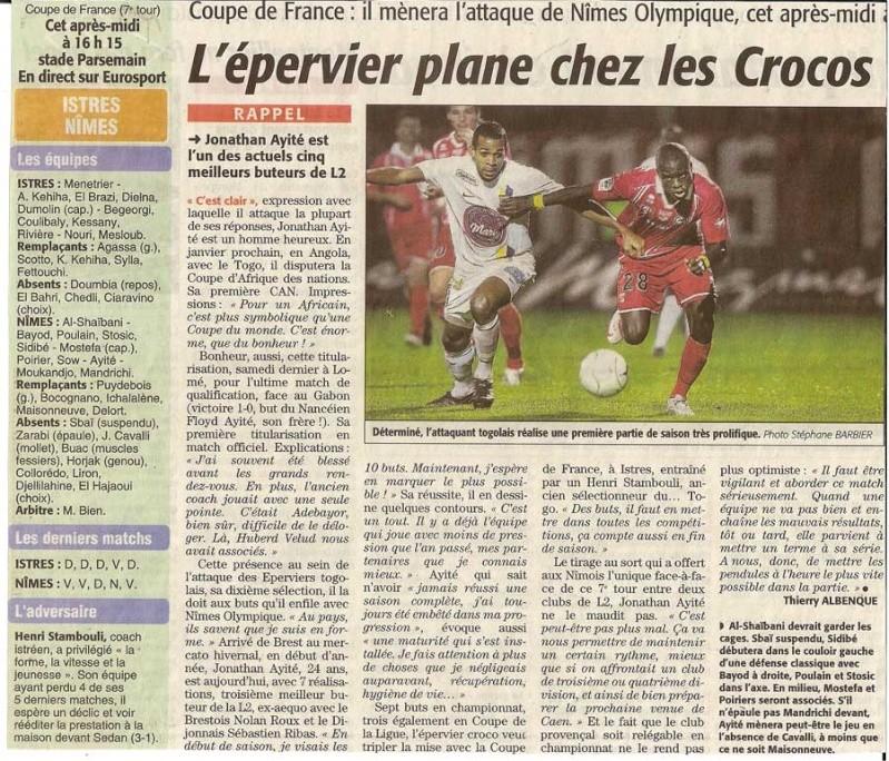 Coupe de France 2009/2010 Numari25