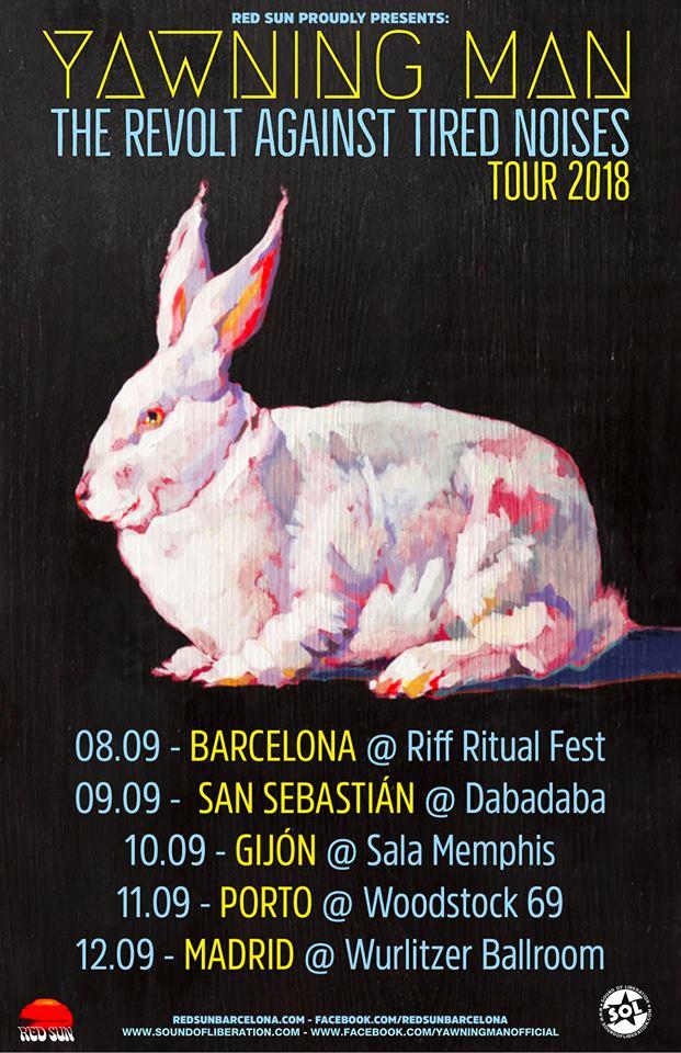 Agenda de giras, conciertos y festivales Tourwe12