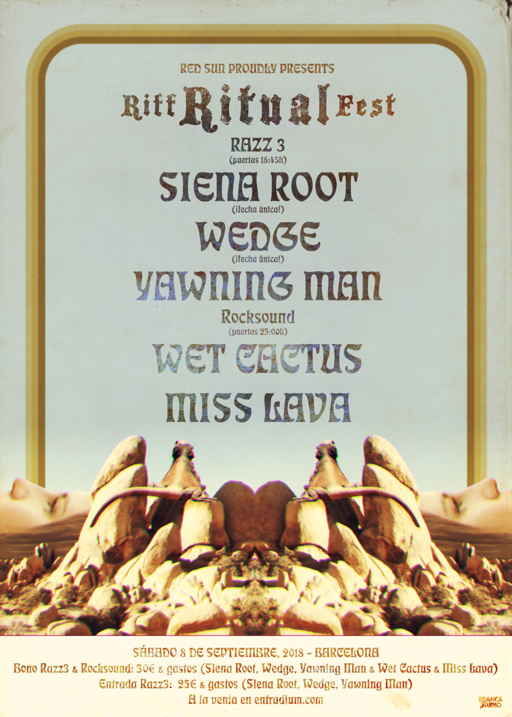 RIFF RITUAL FEST Vol.4 / 8 sept - Siena Root, Wedge, Yawning Man, Wet Cactus, Miss Lava (BCN) Web11