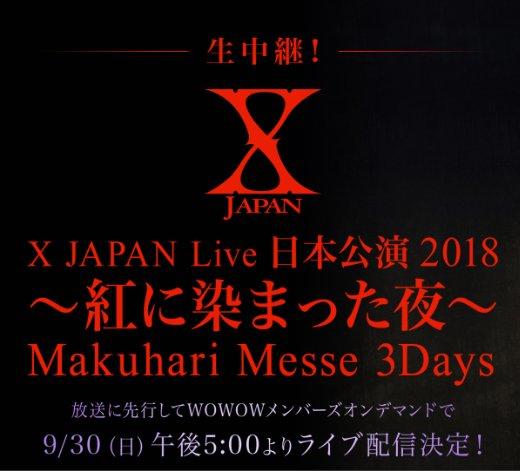 - LIVE IN JAPAN 2018 ~Kurenai ni Somatta Yoru~ @Makuhari Messe [09.30] Img_2012