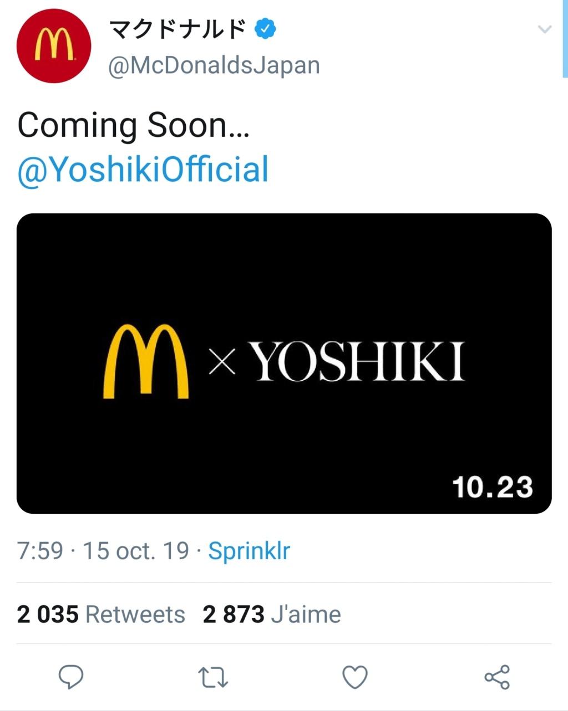 Yoshiki X Mc Donald's Screen14