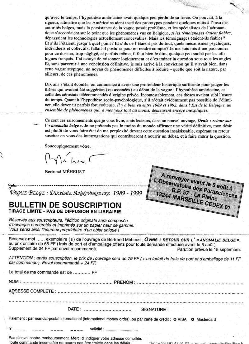 Vagues Belges - Coupure de presse 0210