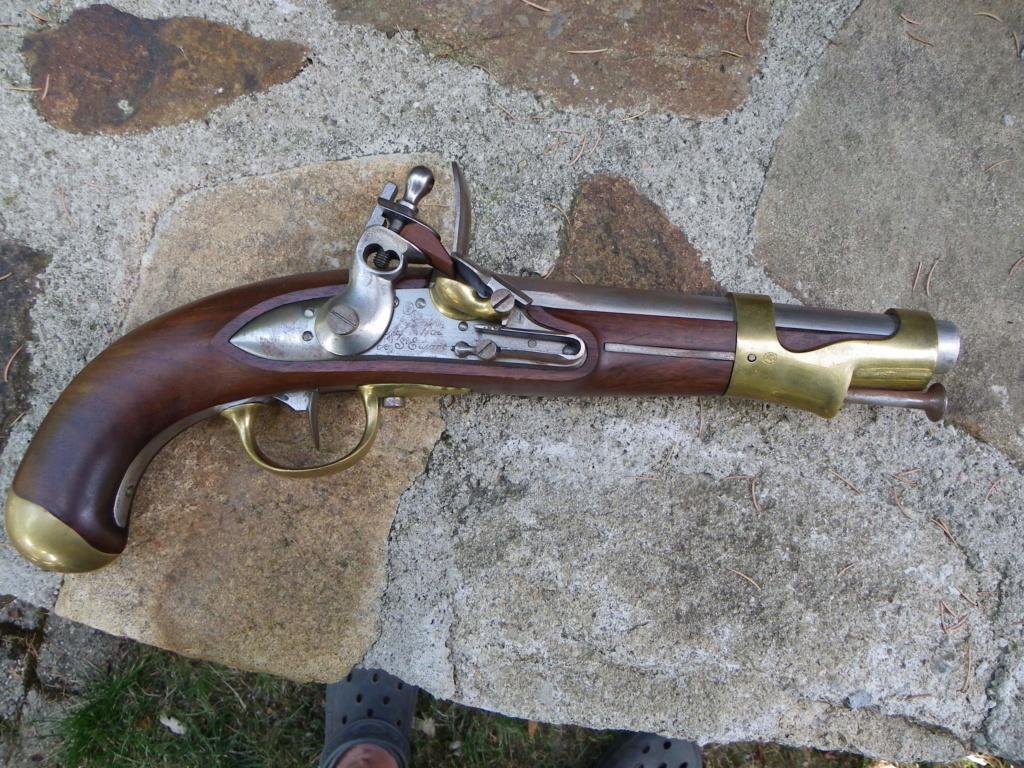 Pistolet silex AN 9- vendu sur autre support a retirer-  Pistol11