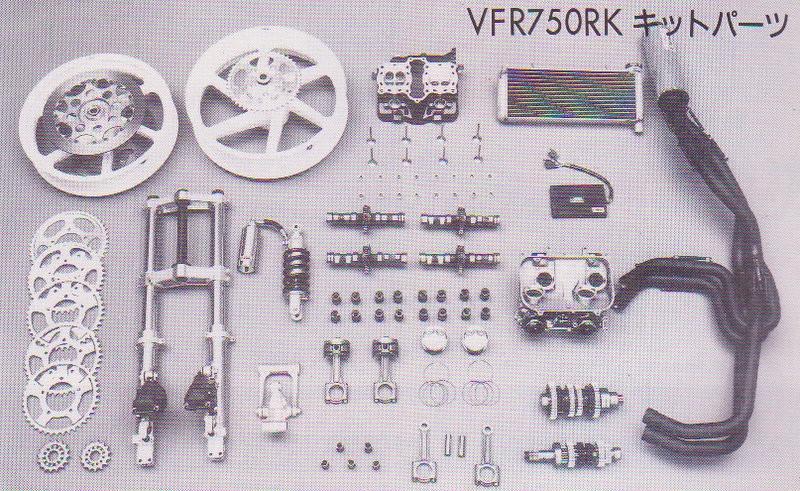 Projet VFR 750 F, 6X, NW6, RK Kit_rc10