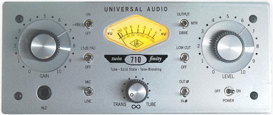 UA 710 Twin-Finity - Préampli / DI hybride 710_fr10