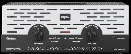 SPL Cabulator: Power Soak, Speaker Simulation & D.I. Sans_t99