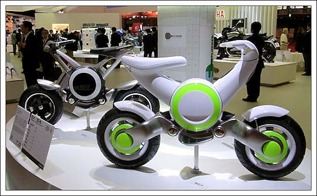Yamaha EC-f, la mini-moto elettrica 225
