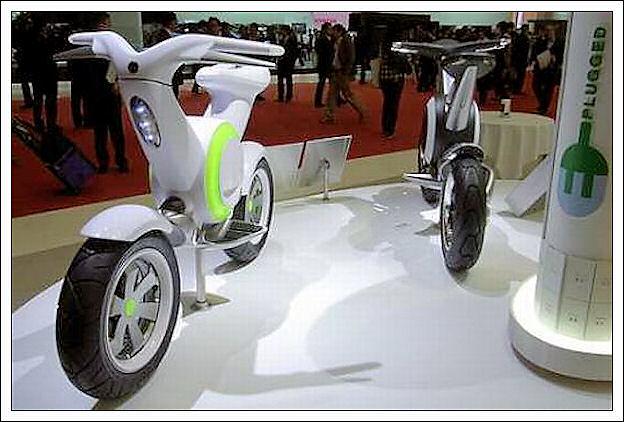Yamaha EC-f, la mini-moto elettrica 323