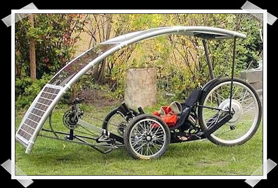 Nuovo prototipo di bicicletta solare Bicicl10