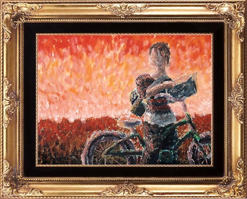"""""""La bicicletta nell'Arte"""" - Pagina 2 Girl_o10"""