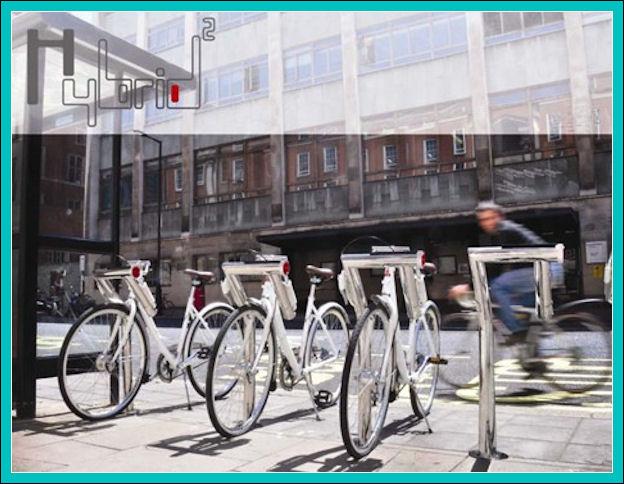 Biciclette che generano energia? Hybrid10
