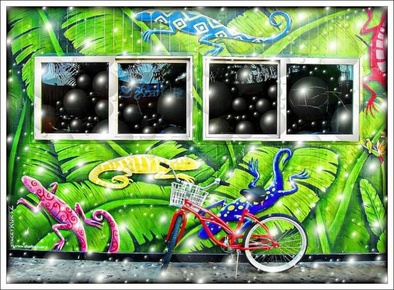 """""""La bicicletta nell'Arte"""" - Pagina 2 Murale10"""