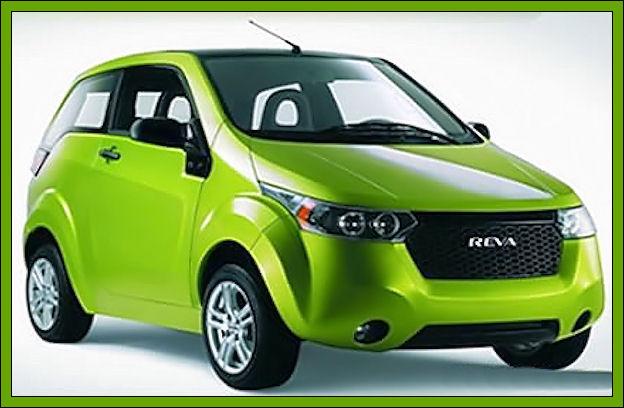 """L'auto elettrica con la """"ricarica"""" da remoto Reva10"""
