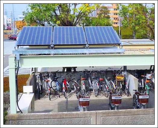 Biciclette Elettriche: Parcheggio Solare Sanyo Sanyo_10