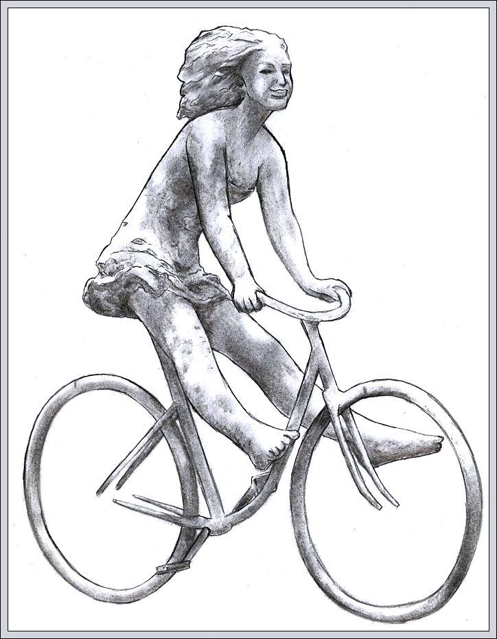 """""""La bicicletta nell'Arte"""" - Pagina 2 Scultu10"""