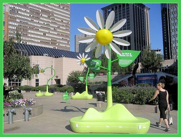 Solar Wi-Fi flowers Solar-16