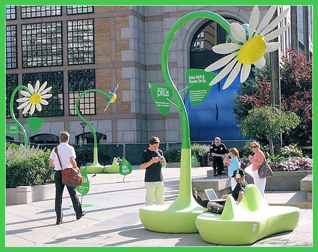 Solar Wi-Fi flowers Solar-17
