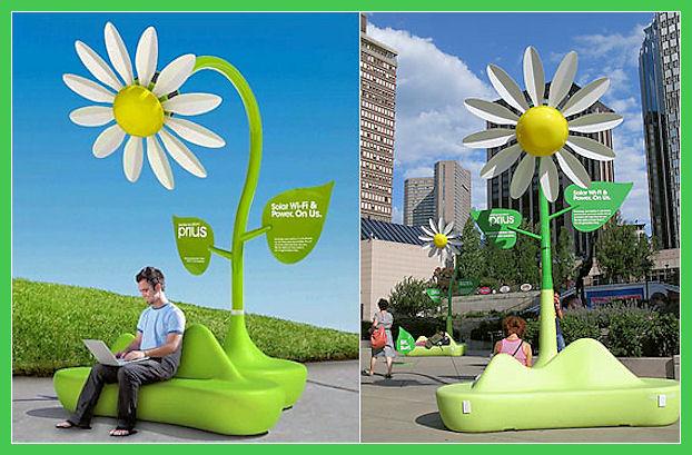 Solar Wi-Fi flowers Solar-19