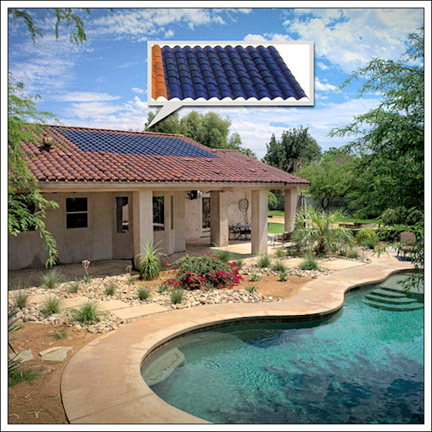 Integrare i pannelli solari nell'architettura Sole-s10