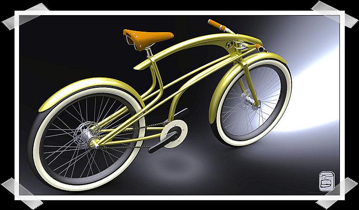 Custom Cruiser Bike Untitl61
