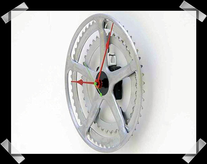 Bike chain ring for a wall clock Untitl89