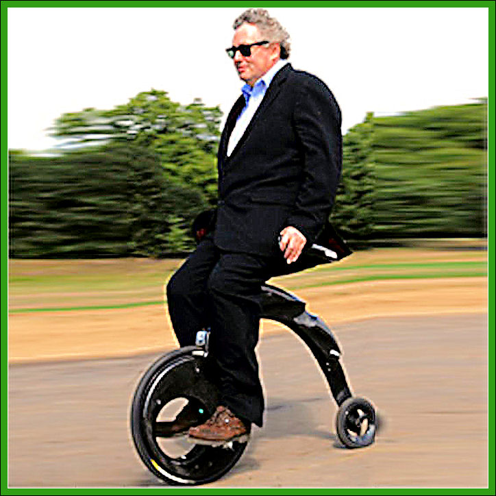 Electric penny-farthing for the 21st century Yikebi11
