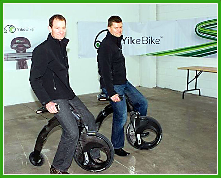 Electric penny-farthing for the 21st century Yikebi12