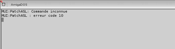 essais emulation OS 4.1 sous winuea 64 00110