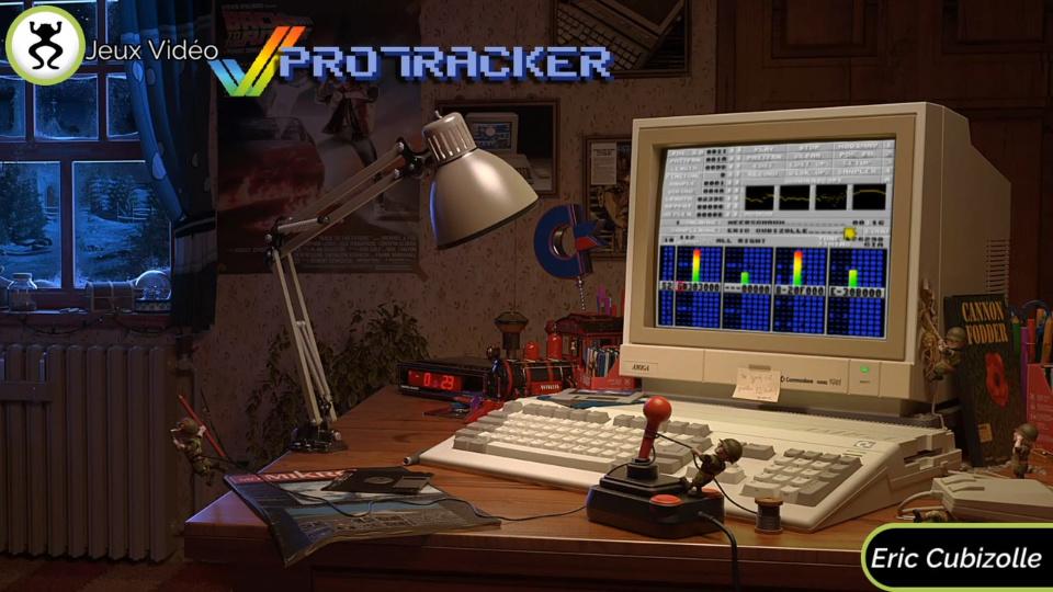 Protracker : un Twitch consacré au célèbre logiciel de musique sur Amiga ! 0110