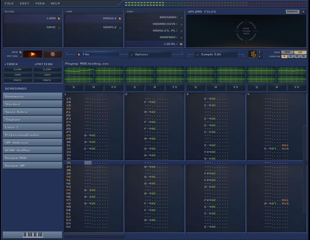 Future Composer Online 0110