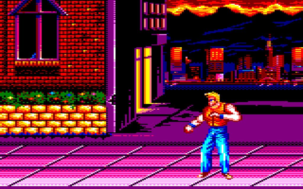 On fait un Beat'em up sur Amstrad CPC ? :P 0114