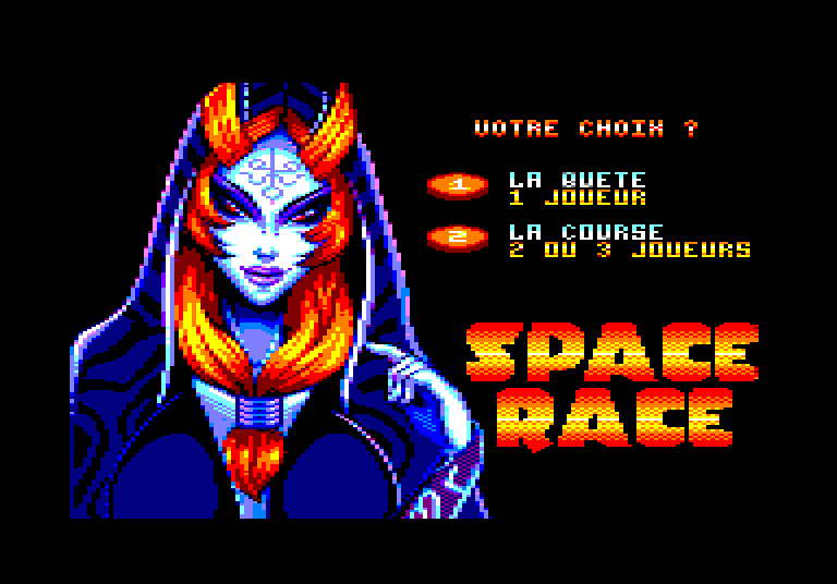 SPACE RACE pour Amstrad CPC 0211