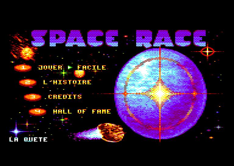 SPACE RACE pour Amstrad CPC 0310