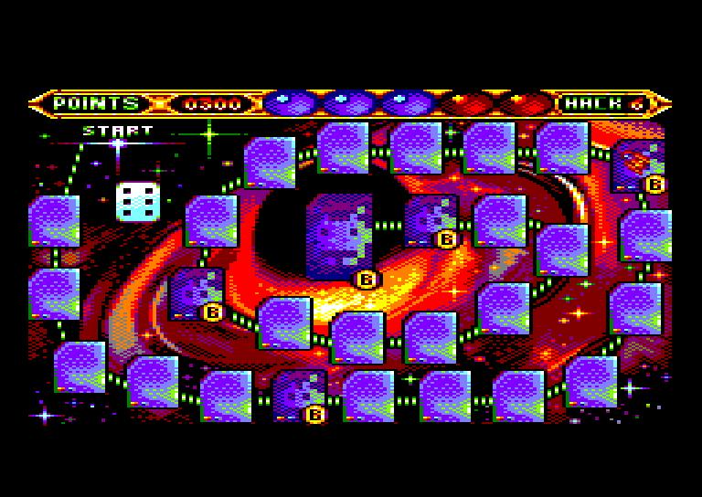 SPACE RACE pour Amstrad CPC 0410