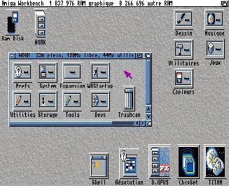 L'émulation Amiga avec AmigaMuseum Amigai10
