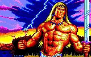Pixel-Art sur Amstrad CPC avec MULTIPAINT Barbar11