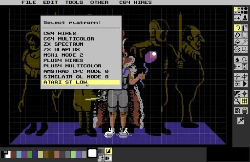 Pixel-Art sur Amstrad CPC avec MULTIPAINT Modese10
