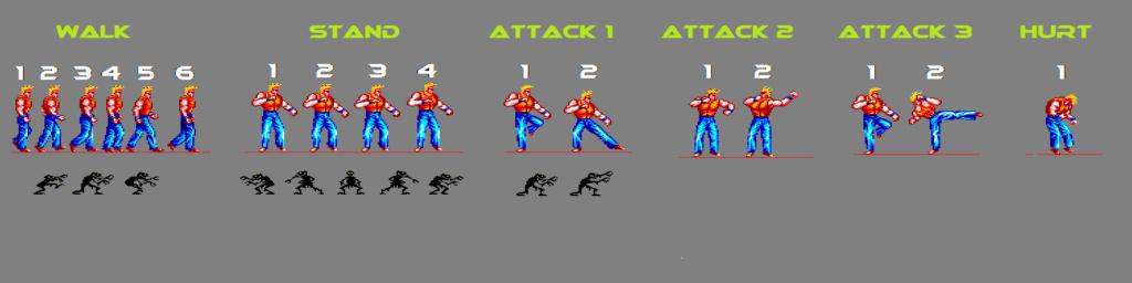 On fait un Beat'em up sur Amstrad CPC ? :P Shadow11