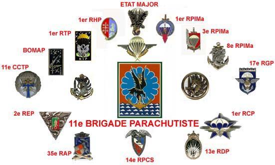 Tout sur les régiments parachutistes de FRANCE 11bpre12