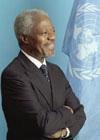 Les Secrétaires Généraux de L'O.N.U Annan_11