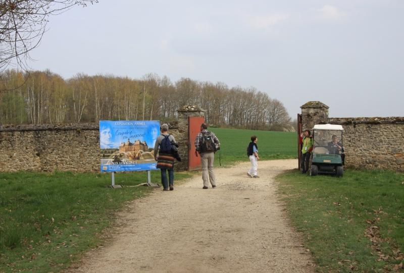 Randonnée des 3 châteaux en Sud Seine et Marne Img_5956