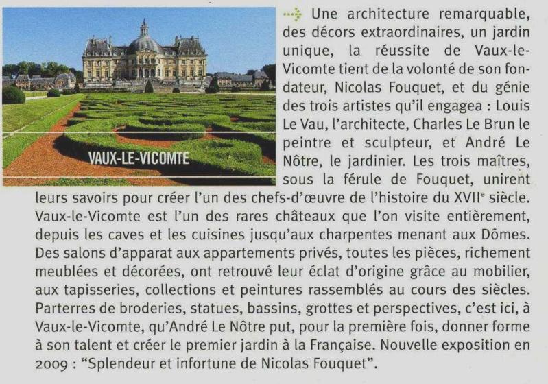 Randonnée des 3 châteaux en Sud Seine et Marne Vaux_l10