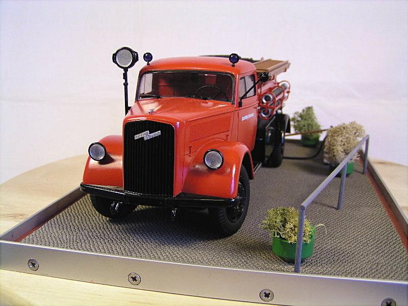 Opel Blitz Firetruck 1:24 Galeriebilder 06614