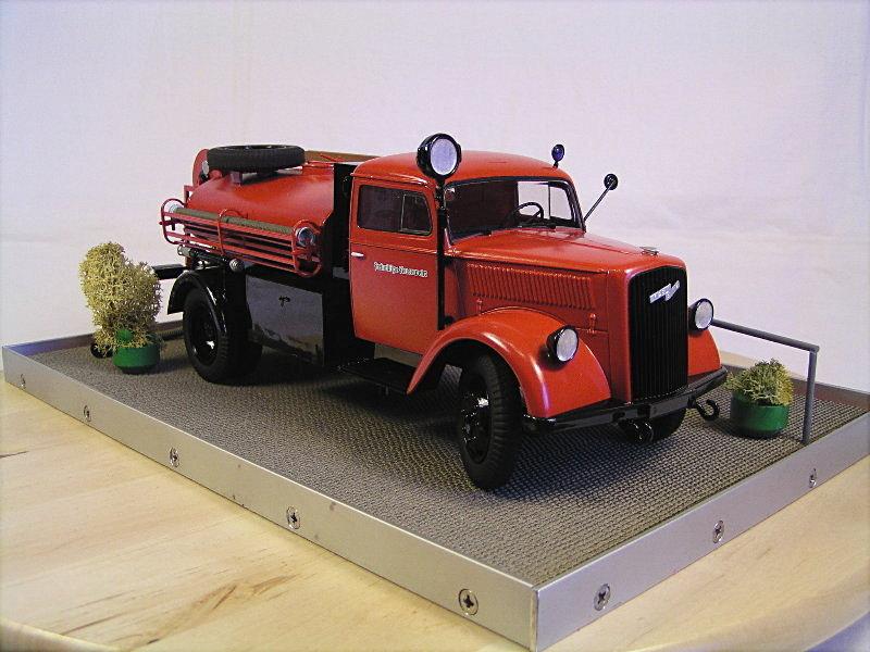 Opel Blitz Firetruck 1:24 Galeriebilder 07114